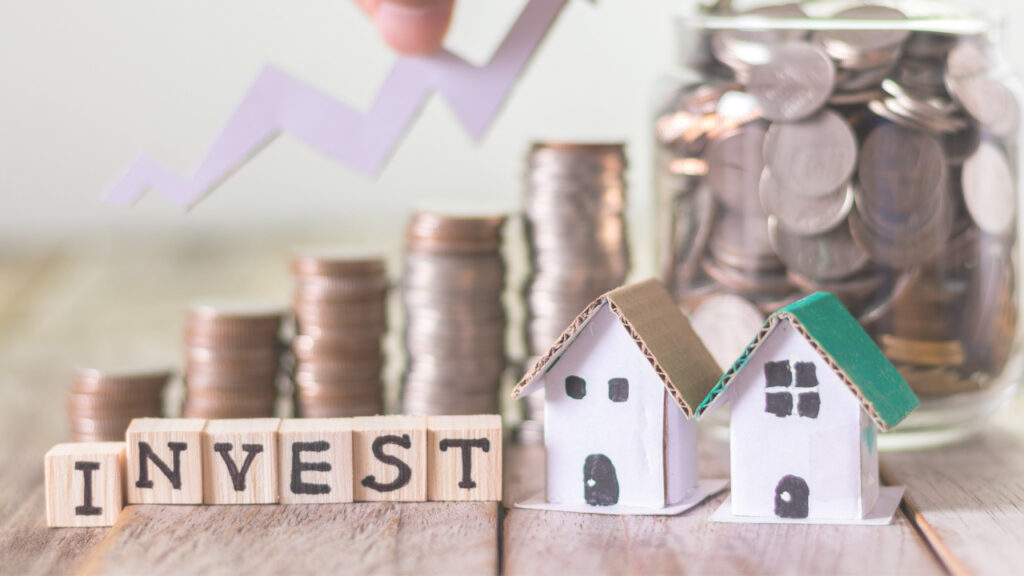 Investment property concept