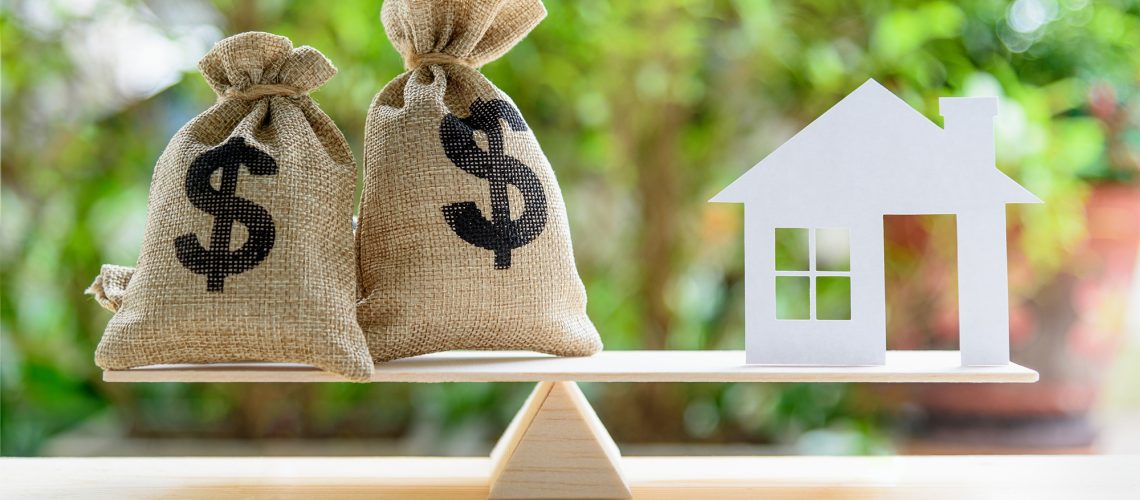 Weighing financial decisions against home sale